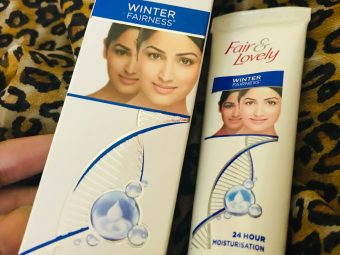 Fair & Lovely Winter Fairness Cream pic 2-Descent product not amazing-By ruchi_sharma