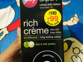 Godrej Expert Rich Creme Hair Colour pic 3-Cover Grays well-By ruchi_sharma