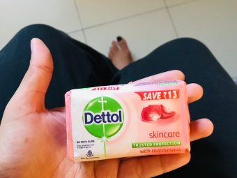 Dettol Skincare Soap -Kills germs while keeping your skin soft-By ruchi_sharma
