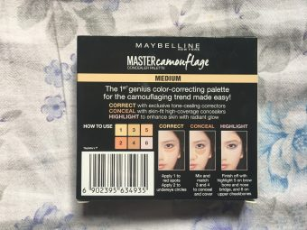 Maybelline New York Master Camo Color Correcting Kit pic 7-Creamy product-By sobia_saman1