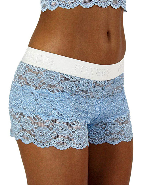 11. Foxers Women's Lace Boxer Briefs