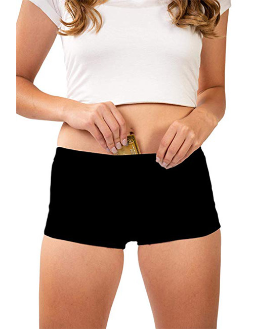 14. Stashitware Women's Secret Pocket Underwear