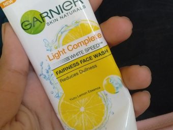 Garnier Skin Naturals Light Complete Facewash pic 1-Love it-By fatma