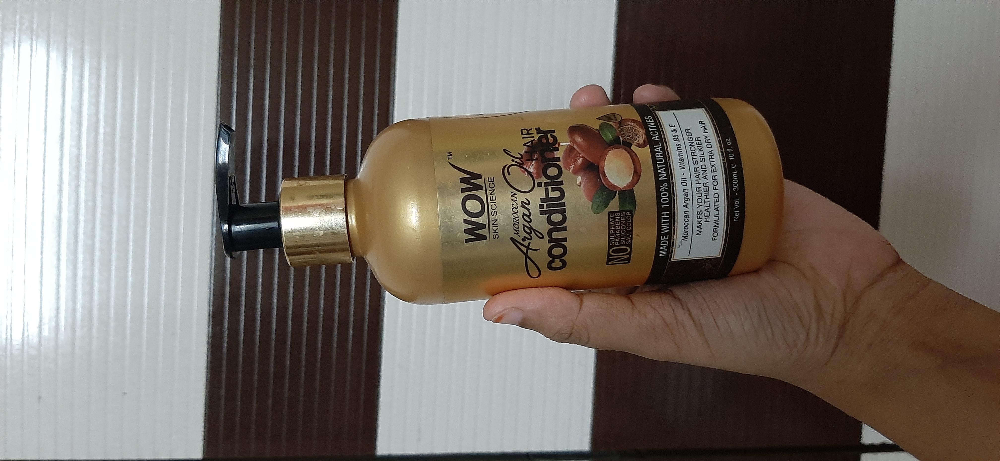 WOW Skin Science Moroccan Argan Oil Conditioner-Wow moroccan Argan oil conditioner-By samira_haider-1