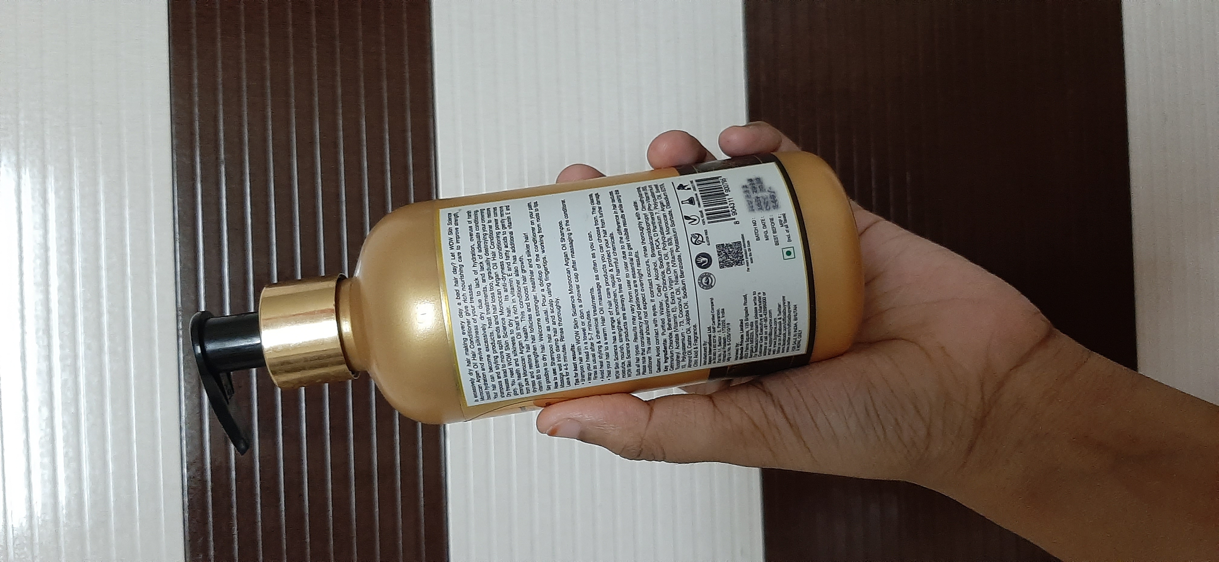 WOW Skin Science Moroccan Argan Oil Conditioner-Wow moroccan Argan oil conditioner-By samira_haider-2