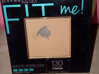 Maybelline Fit Me Matte And Poreless Powder pic 1-Favourite powder-By bushra5