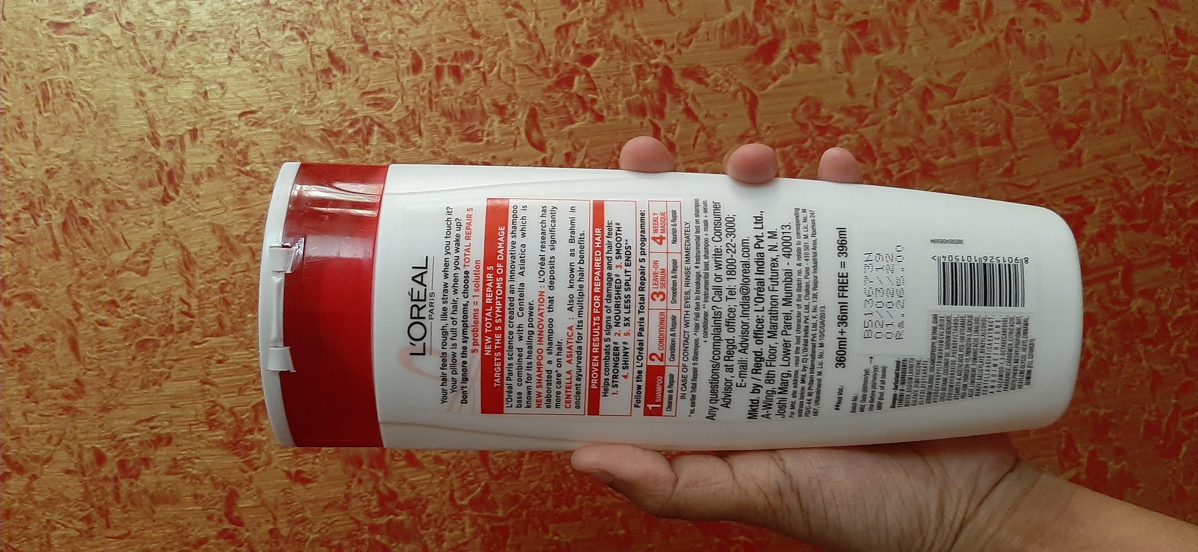 L'Oreal Paris Total Repair 5 Advanced Repairing Shampoo-Very drying-By samira_haider-2