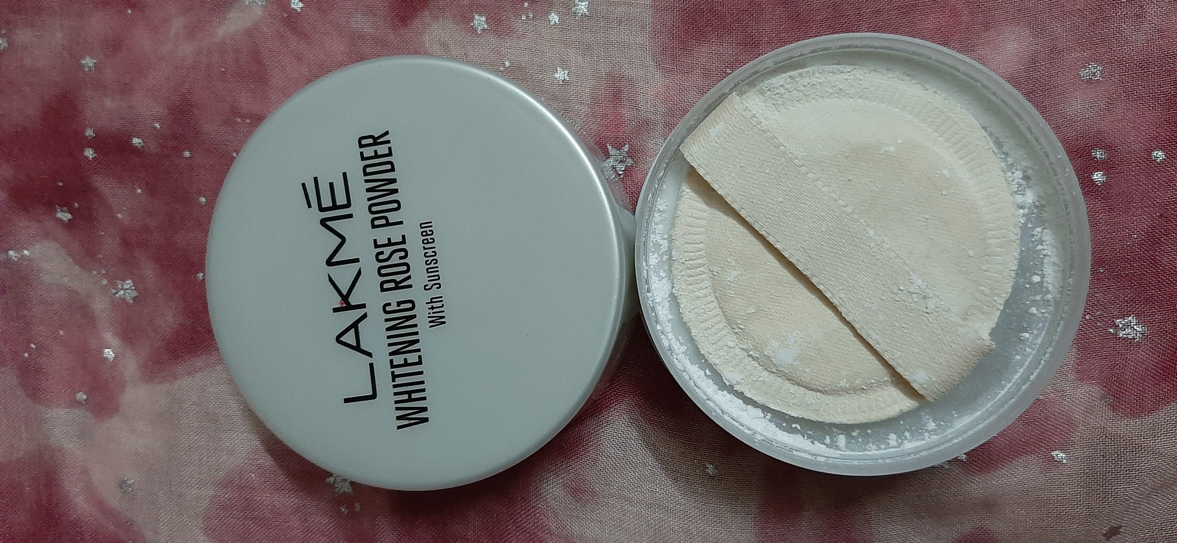 Lakme Whitening Rose Powder With Sunscreen pic 5-Best translucent powder-By samira_haider