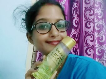 Emami 7 Oils In One Damage Control Hair Oil -Emami 7 oils in one damage control hair oil honest review-By indian_youtuber_nilima