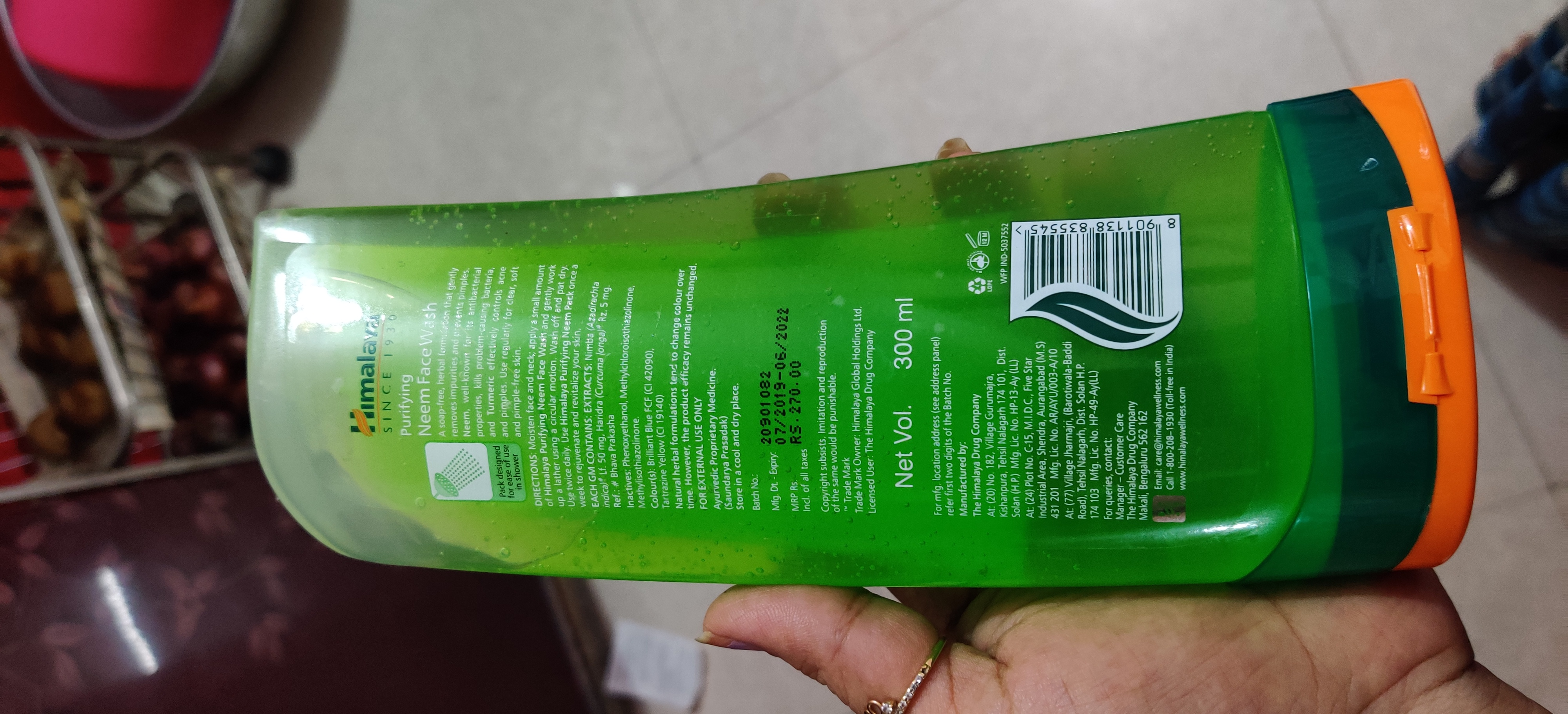 Himalaya Herbals Purifying Neem Foaming Face Wash-Good but not great.-By jigna.cuppycake-2