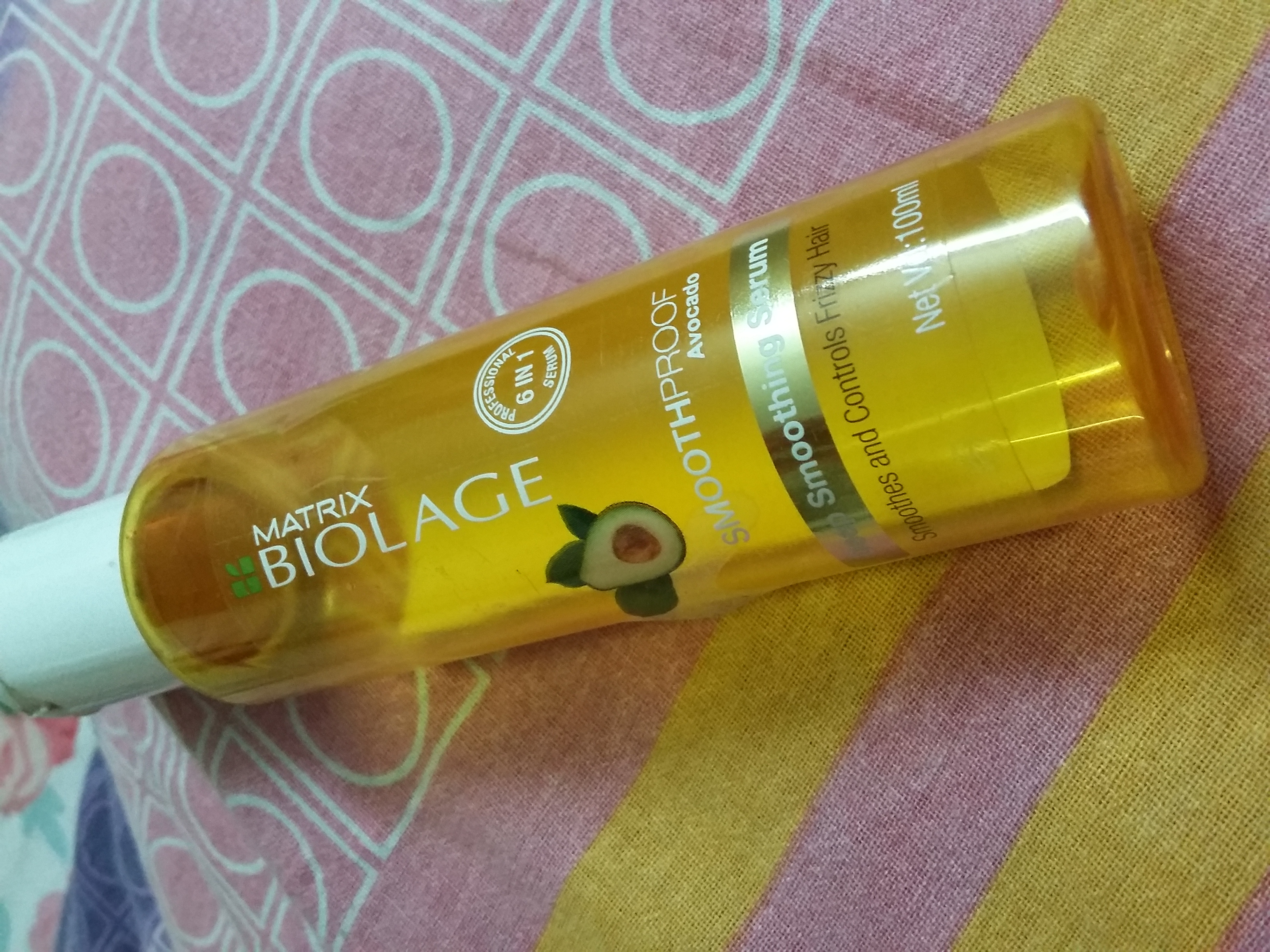 Matrix Biolage 6 In 1 Smooth Proof Deep Smoothing Serum-Keeps hair frizz free-By sobia_saman1-2
