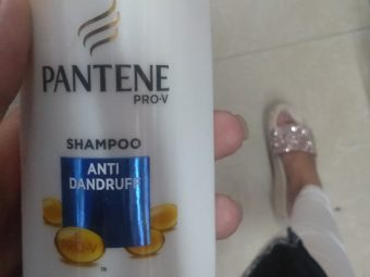 Pantene Pro-V Anti Dandruff Shampoo pic 4-See the difference in one day-By alia28