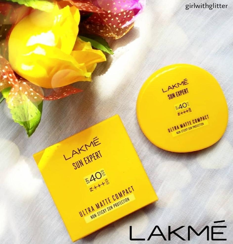 Lakme Sun Expert Ultra Matte SPF 40 PA+++ Compact-Best compact-By samira_haider-1