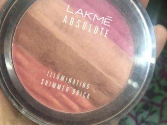 Lakme Absolute Illuminating Blush Shimmer Brick pic 1-Best blush-By sobia_saman1