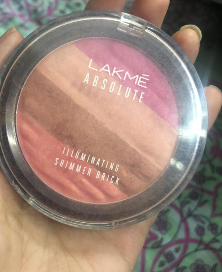 Lakme Absolute Illuminating Blush Shimmer Brick pic 1-Best blush-By sobia_saman1