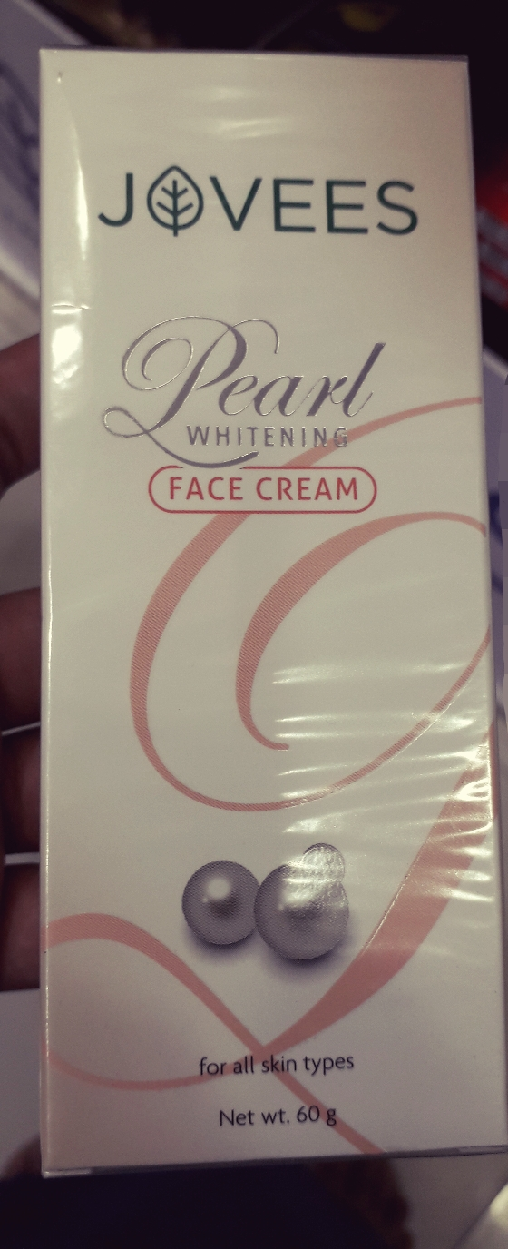 Jovees Pearl Whitening Face Cream-Cruelty free face cream-By manju_-1