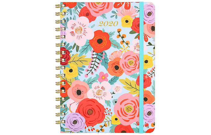 2020 Planner – Weekly And Monthly Planner With Tabs