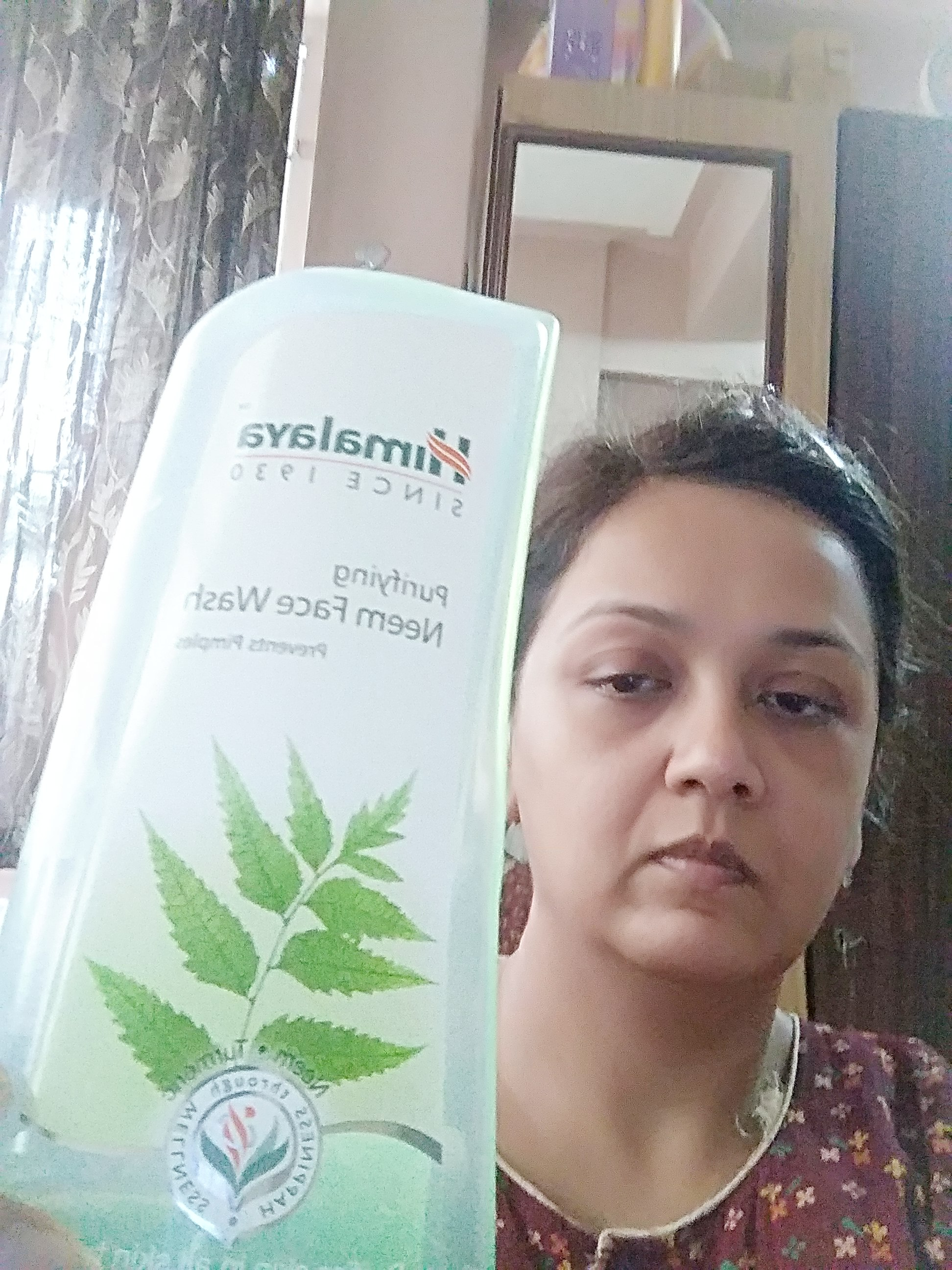 Himalaya Herbals Purifying Neem Foaming Face Wash-Great One-By rinku-5
