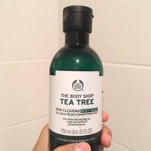 The Body Shop Tea Tree Body Wash -Worth product-By famida_ansari