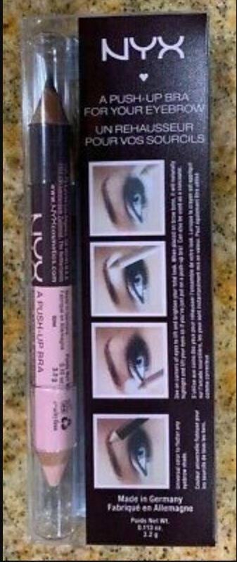 NYX Professional Makeup Push Up Bra For Your Eyebrows -Does your brows in a jiffy-By know.your.vanity