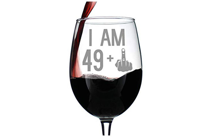 49 + 1 Middle Finger – 50th Birthday