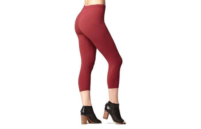 6. Conceited Premium Ultra Soft High Waisted Plus Size Capri Leggings For Women