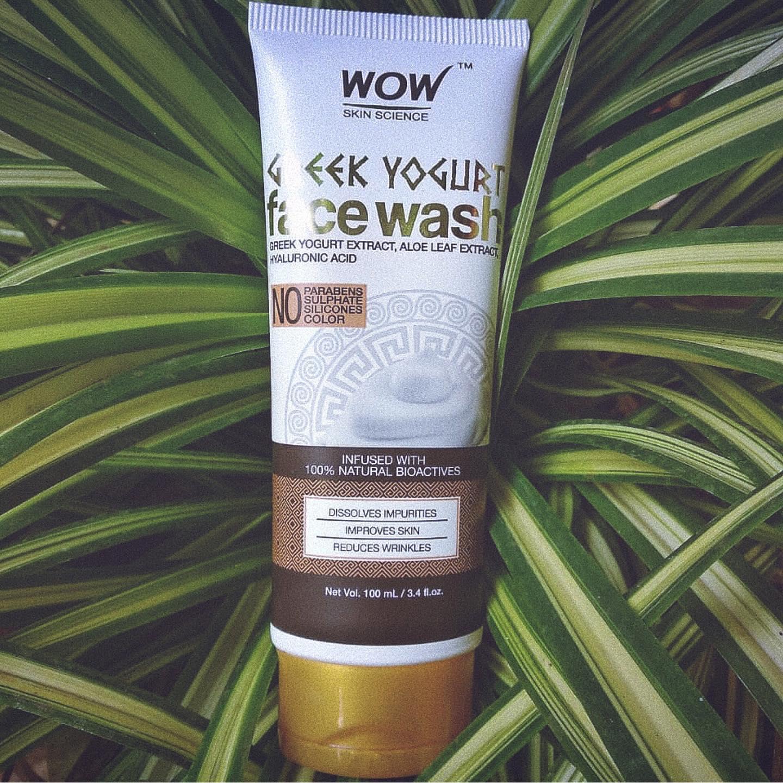 WOW Skin Science Greek Yogurt Gel Face Wash-greek yogurt face wash-By smrutha