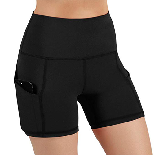 8. ODODOS High Waist Out Pocket Yoga Shorts