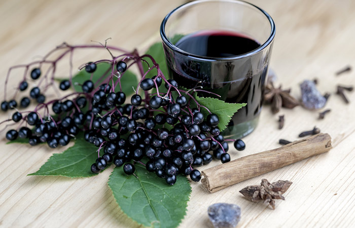 Alderberry juice