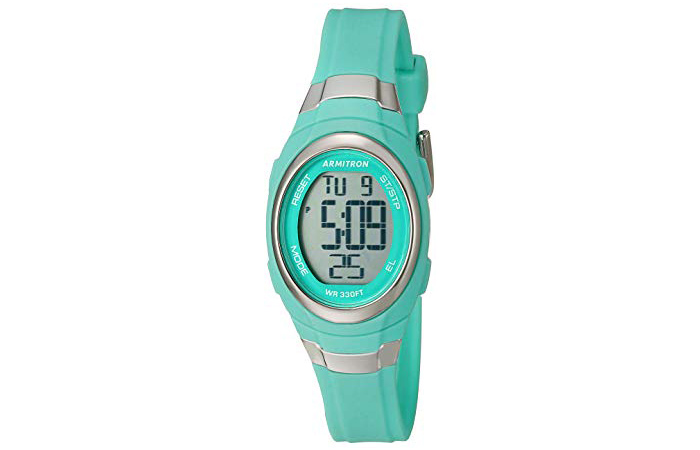 Armitron Sport Women's 457034 Digital Chronograph Resin Strap Watch