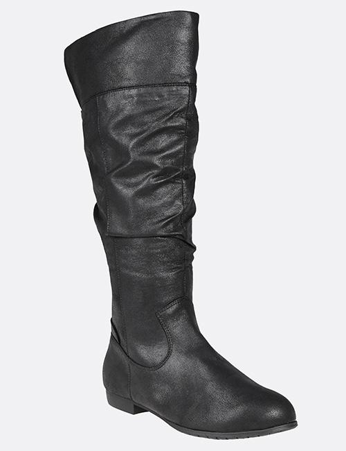 Avenue Brina Ruched Flat Boots