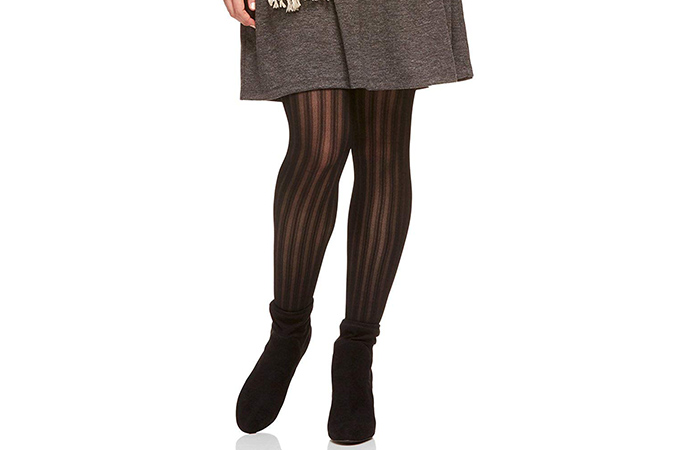 Berkshire The Easy On Vertical Stripe Plus Size Tights