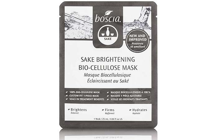 Boscia Sake Brightening Biocellulose Mask