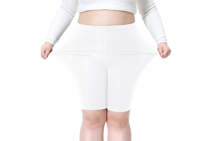Cheapest Buy Women's Plus Size Ultra Soft Short Leggings