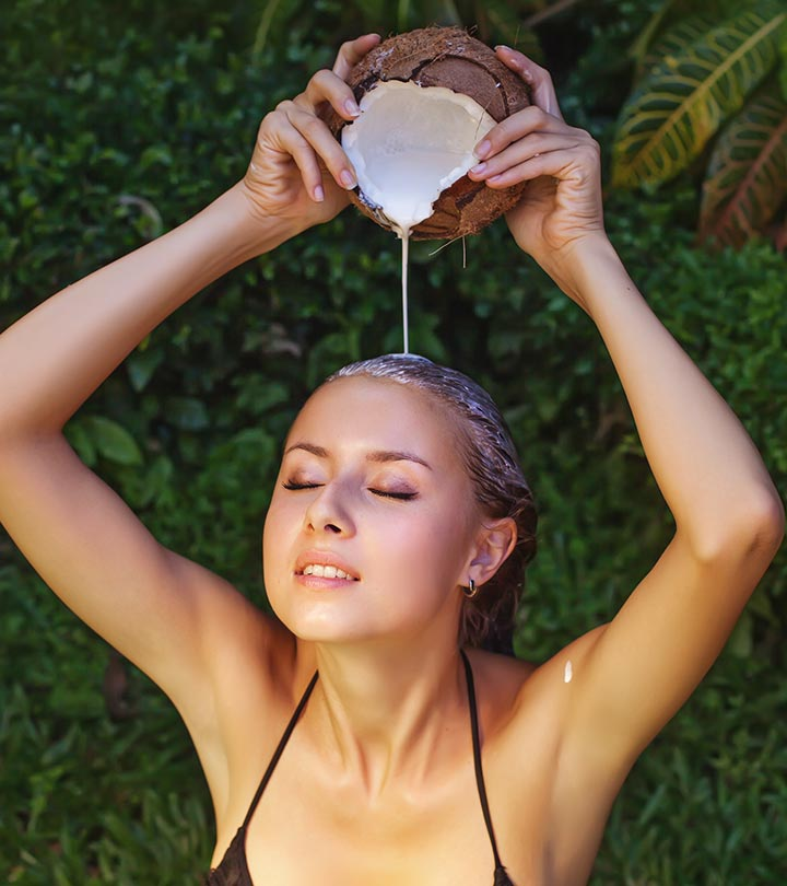 Coconut Milk For Hair Growth in Hindi