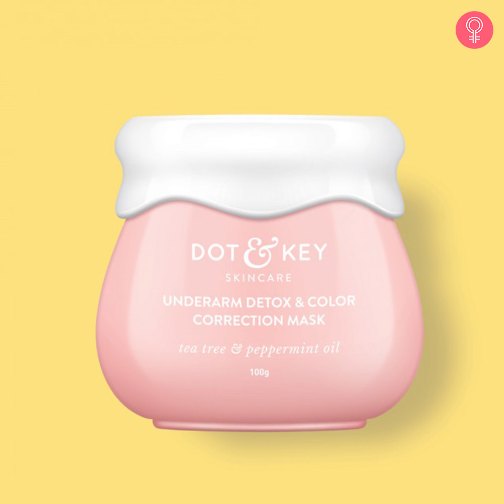 Dot & Key Underarm Detox & Color Correction Mask