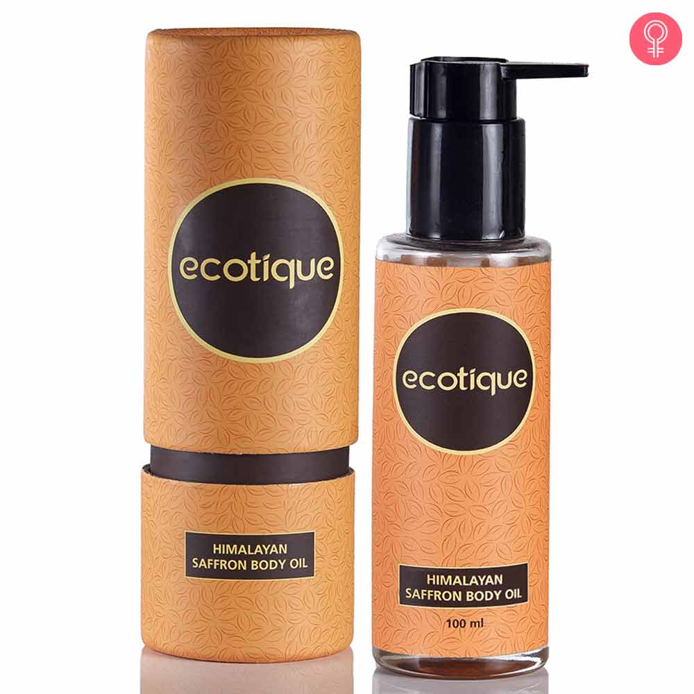 Ecotique Himalayan Saffron Body Oil