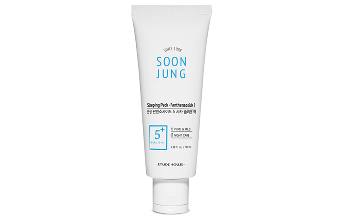 Etude House SoonJung 5-Panthensoside Cica Sleeping Pack