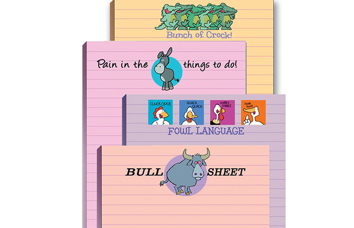 Funny Adult Note Pad Assorted Pack