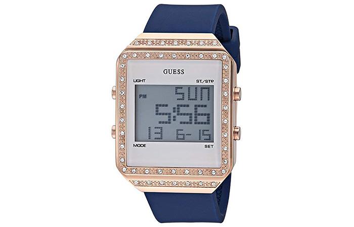 GUESS Women's Stainless Steel Japanese Quartz Watch