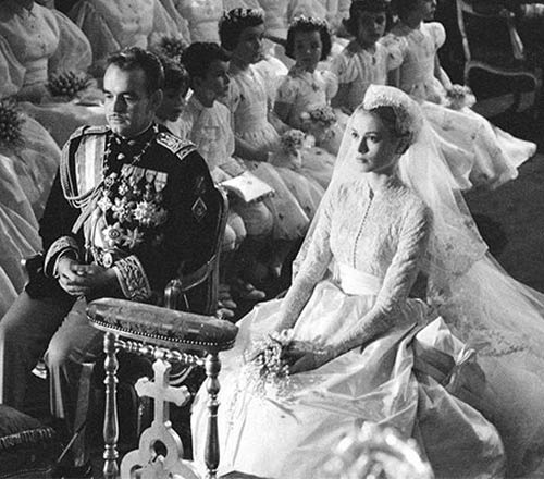 Grace Kelly's Wedding Dress – $60,000
