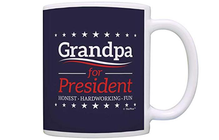 Grandpa for President Coffee Mug