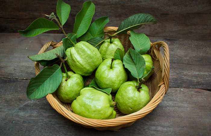 Guava leaves for ache in a molar