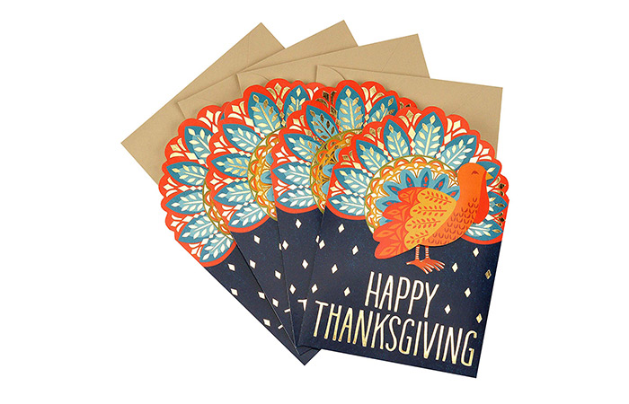 Hallmark Pack Of Thanksgiving Cards