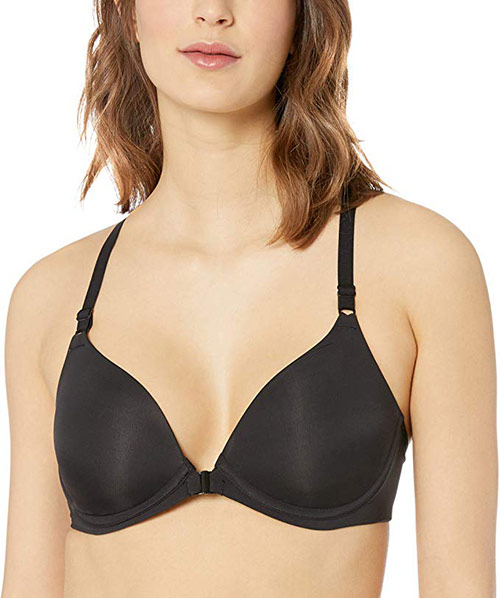 Hanes Women's Oh So Light Front Close Wireless Bra