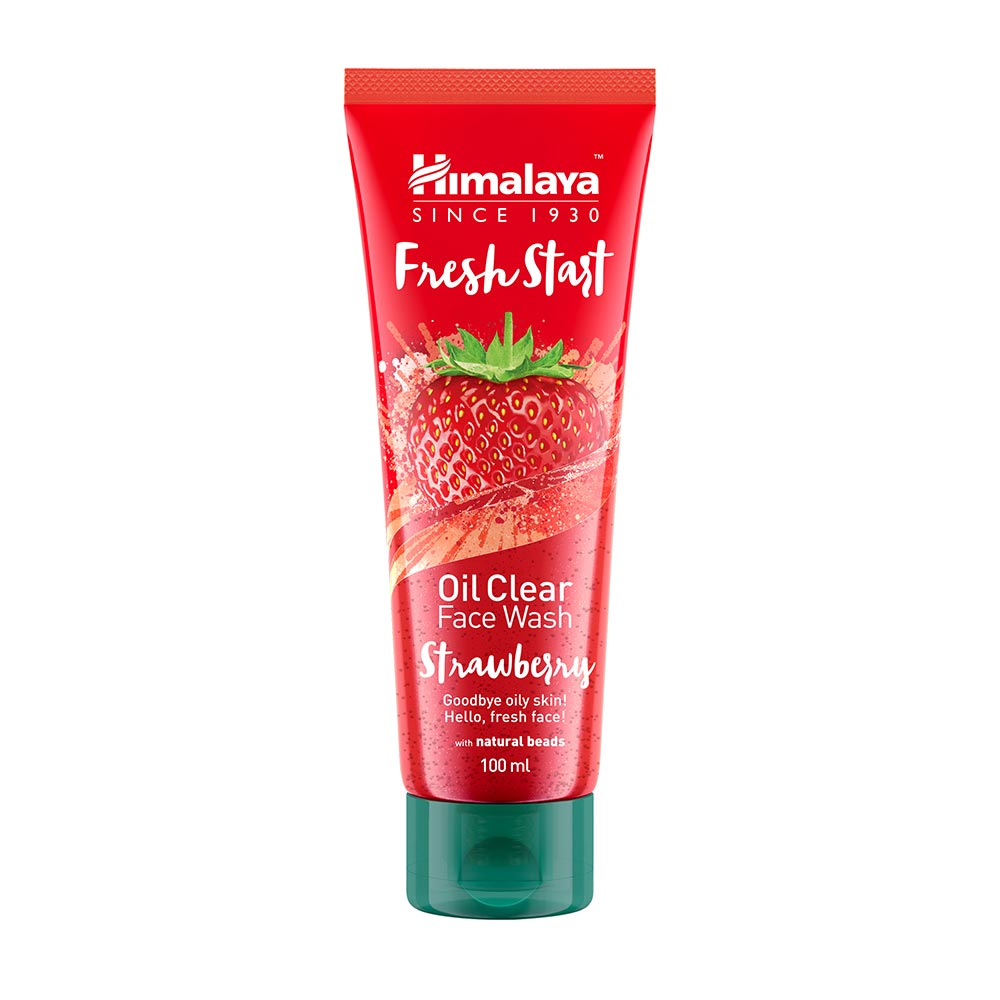 Himalaya Herbals Fresh Start Oil Clear Strawberry Face Wash