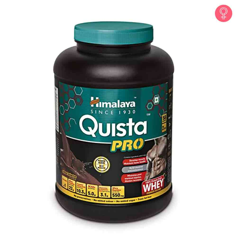 Himalaya Quista Pro Advanced Whey Protein Powder