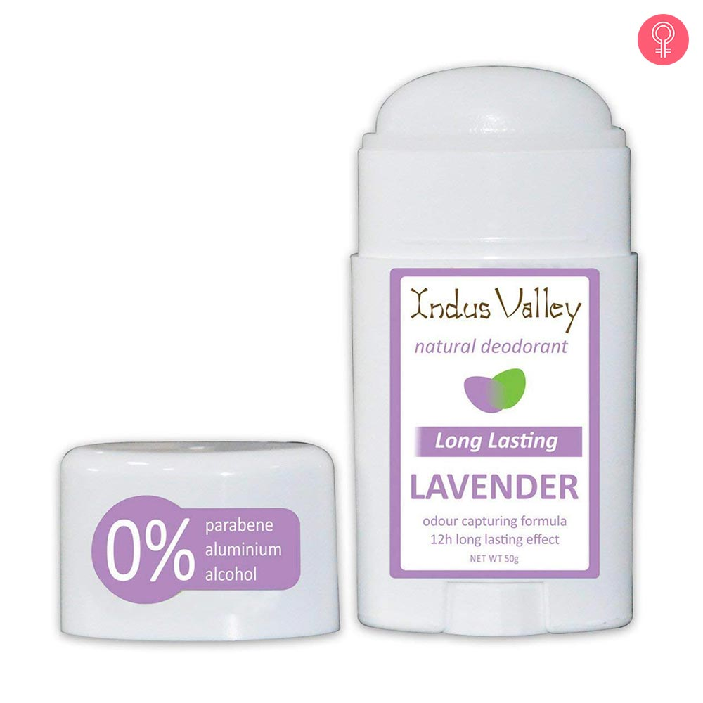 Indus Valley 100% Natural Aluminium Free Lavender Deo Stick