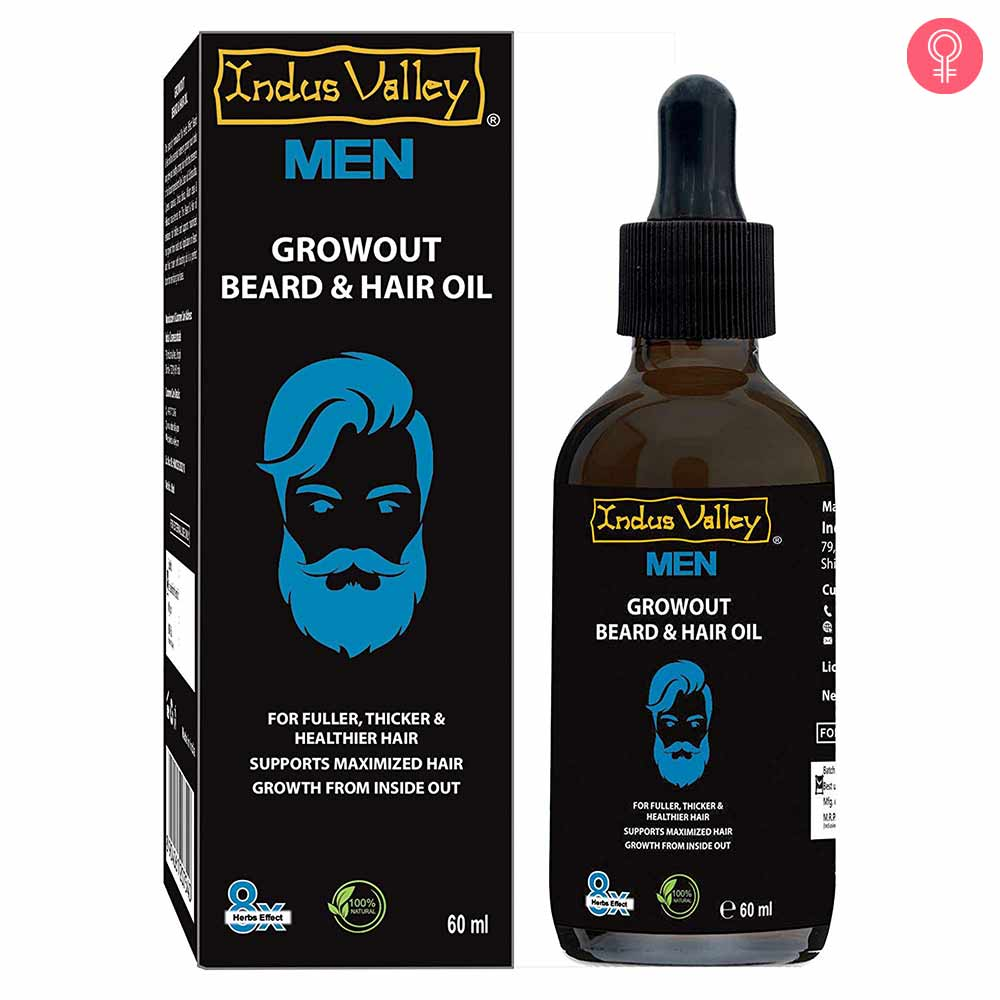 Indus Valley 100% Organic Growout Beard & Hair Oil