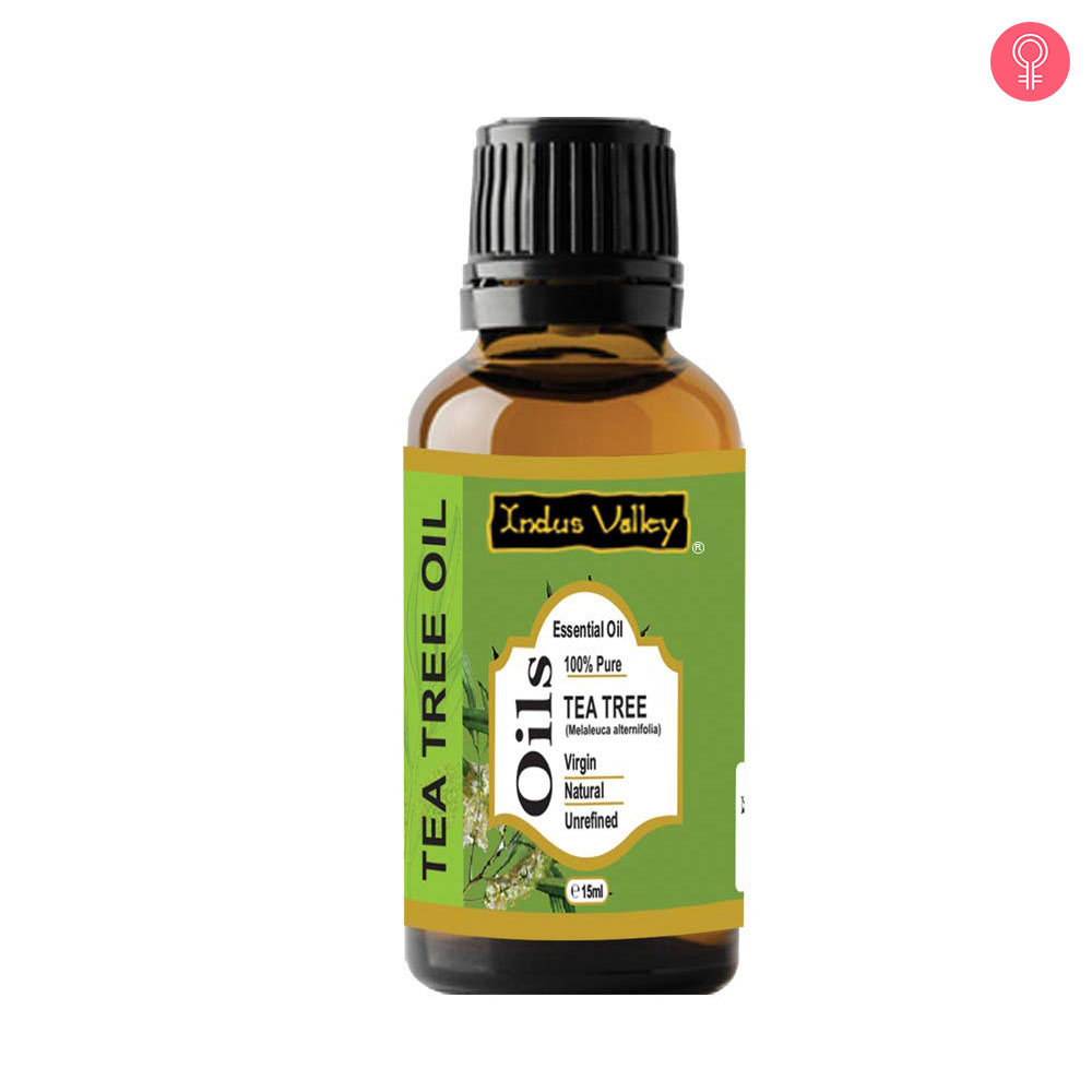 Indus Valley 100% Pure And Natural Tea Tree Essential Oil For Hair & Face Care